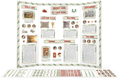 Use this printable kit to make your Ancient Rome report! Download and print the complete kit instantly.
