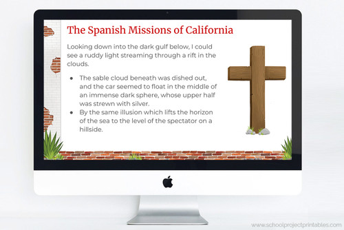 Fully customize-able template for your California Mission report.