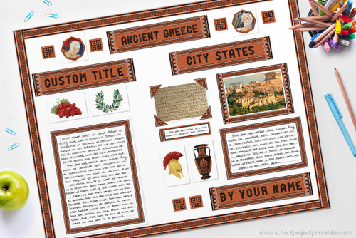 Ancient Greece Project Kit