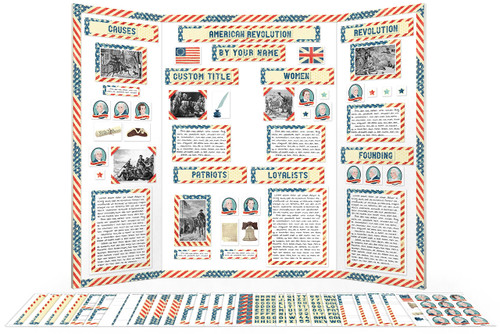 Make your American Revolutionary War report with this complete printable kit!