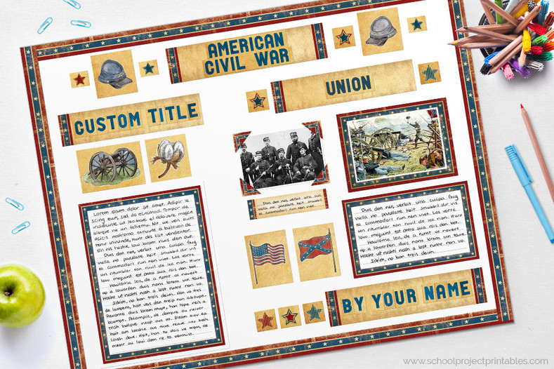American Civil War Project Tutorial