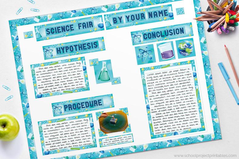 Science Fair Board Tutorial