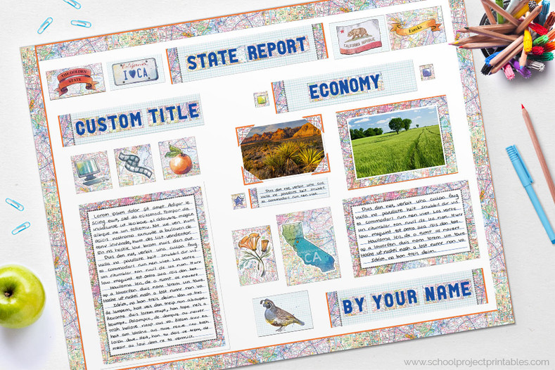 State Report Poster Tutorial
