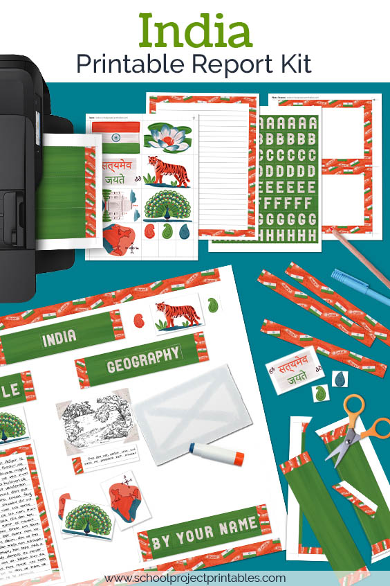 Printable kit for India projects.