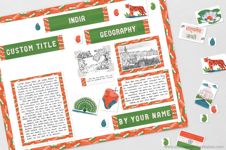 Printable clip are for India reports.