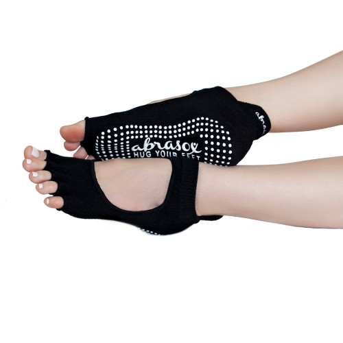 Arch Genie - Yoga Socks - Black 1