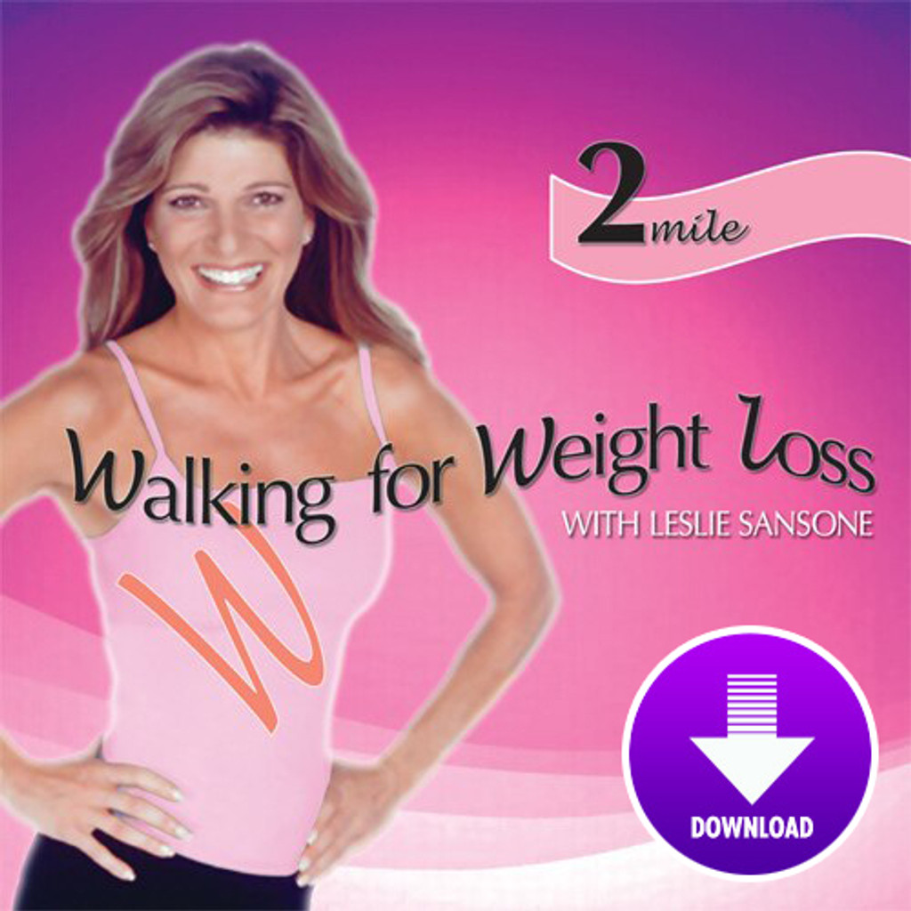 Walking for Weight Loss-2 MILE WALK  featuring Leslie Sansone - DIGITAL