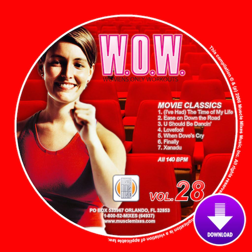 WOW Vol 28 - MOVIE CLASSICS