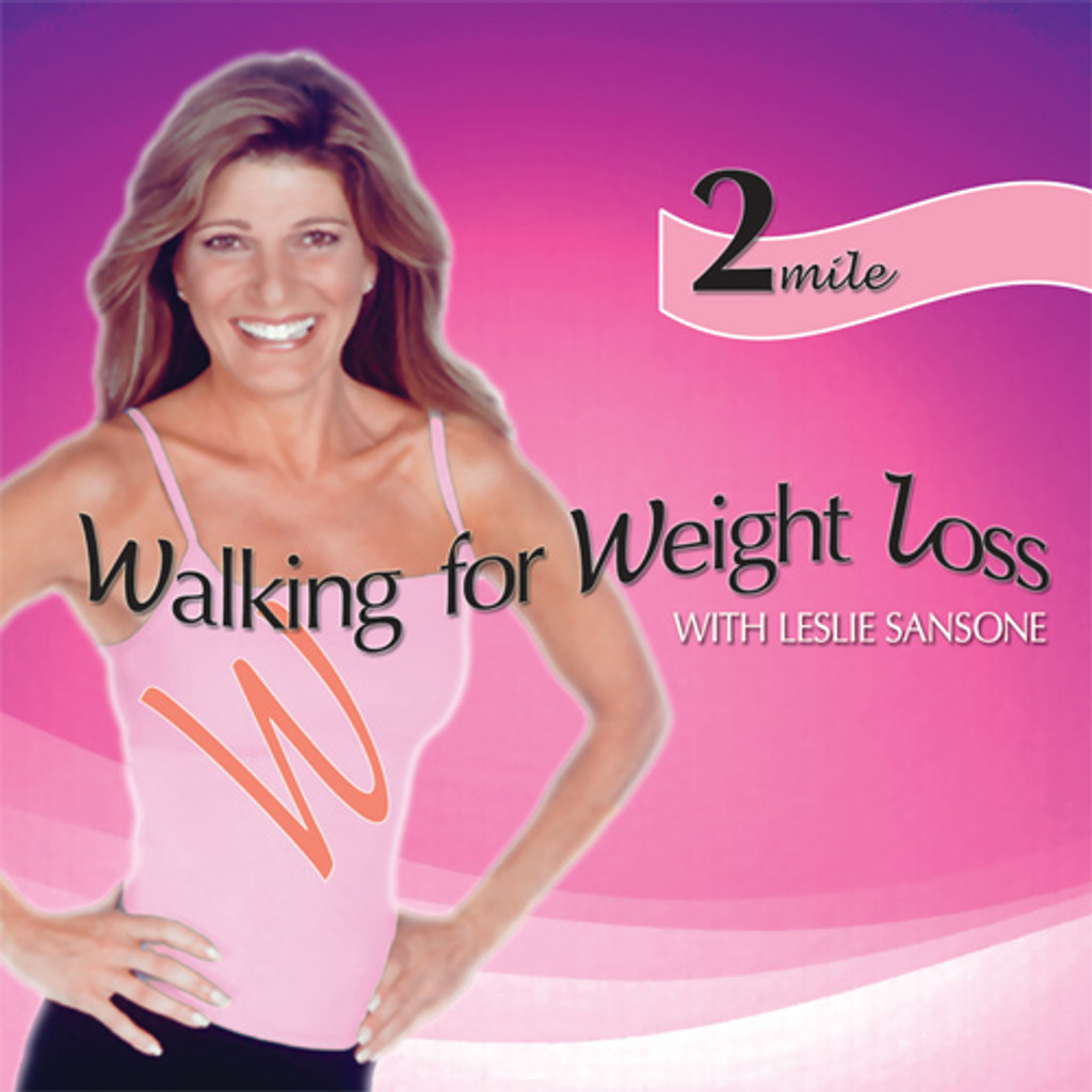 Walking for Weight Loss-2 MILE WALK  featuring Leslie Sansone - DISCONTINUED