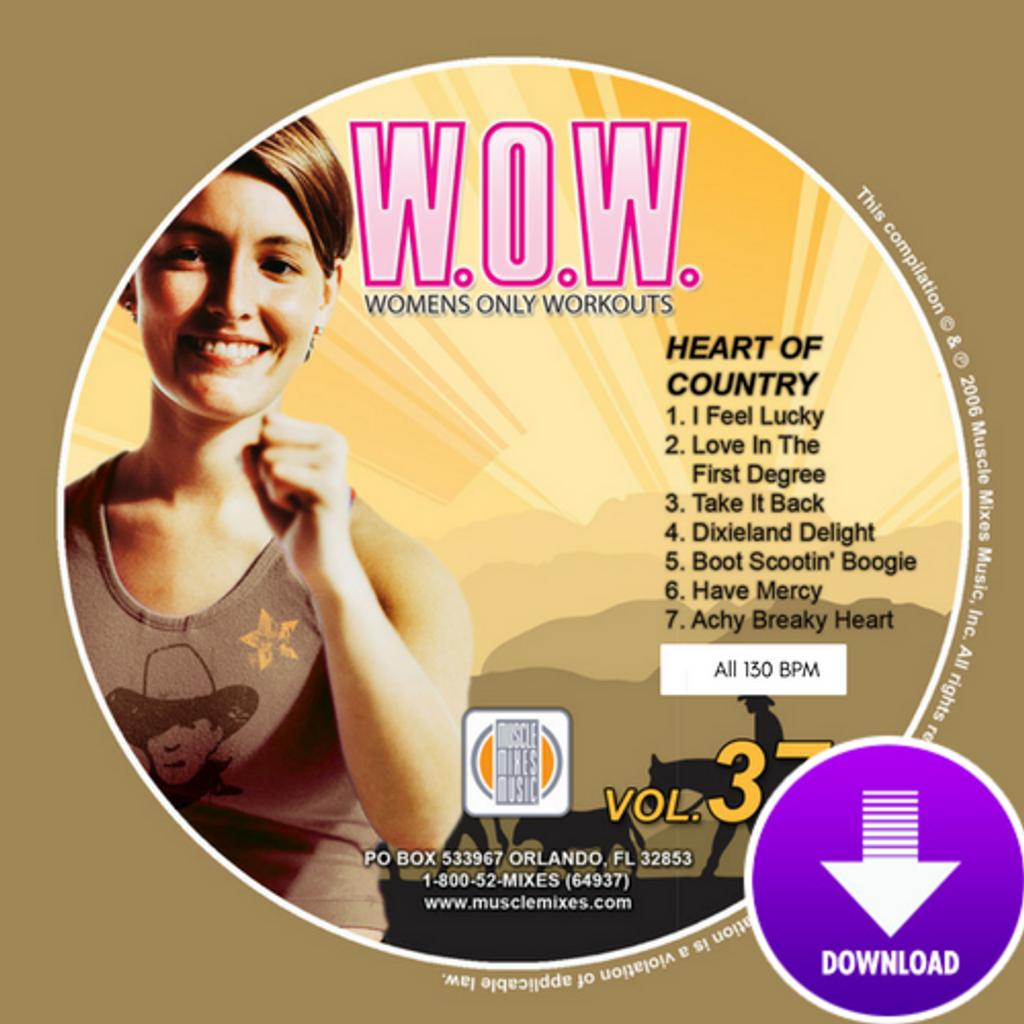 W.O.W. 37 - HEART OF COUNTRY - Digital