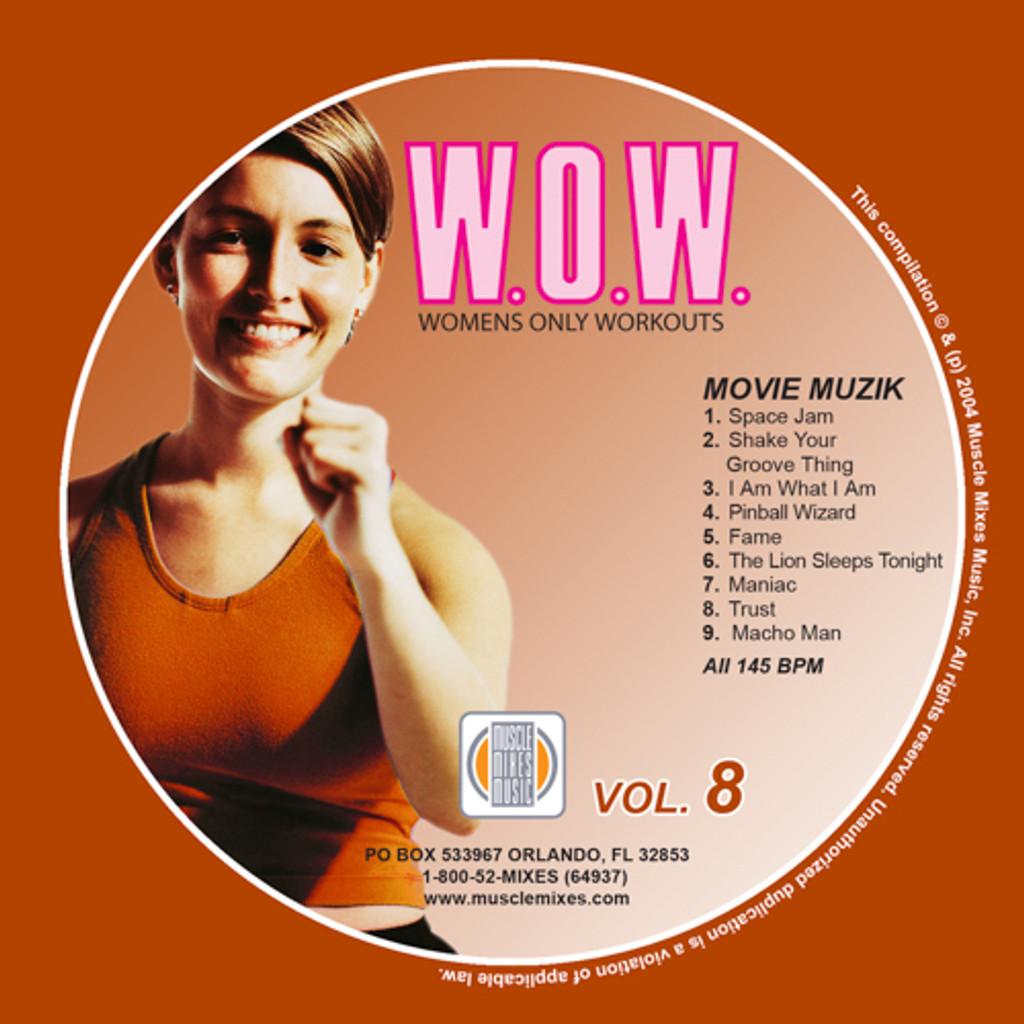 MOVIE MUZIK - W.O.W. 8 - Digital Download