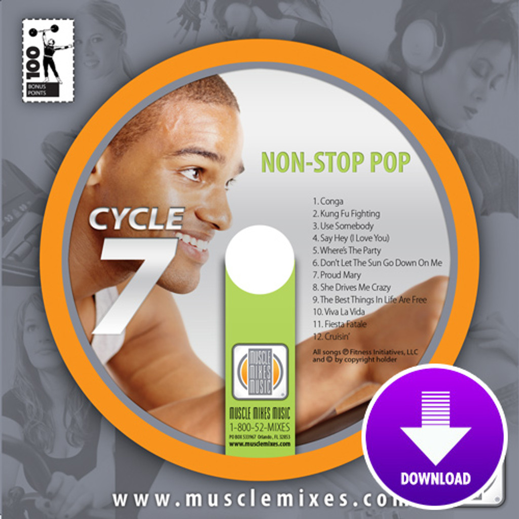 NON-STOP POP for Indoor Cycling-Digital Download