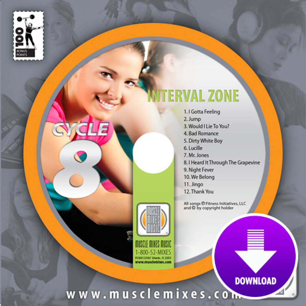 INTERVAL ZONE for Indoor Cycling -Digital Download