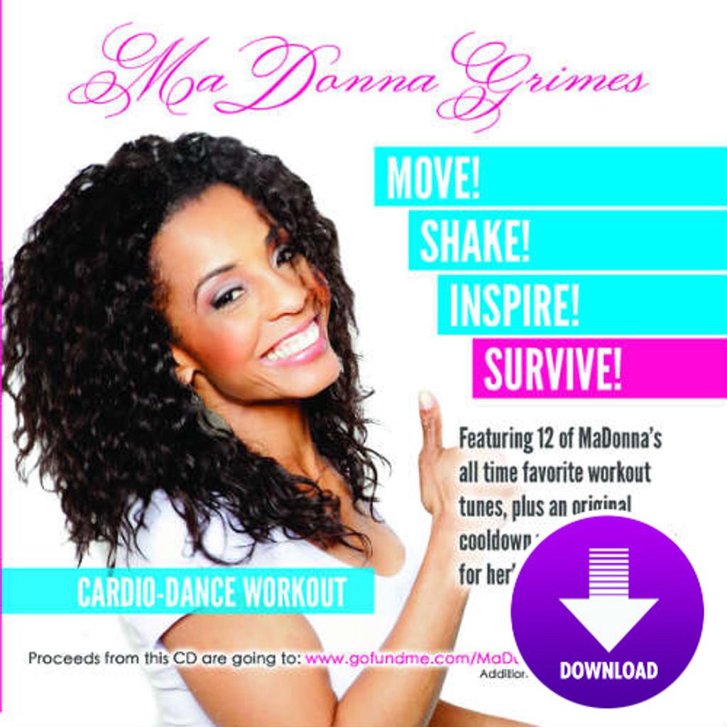 MaDonna Grimes Cardio-Dance Workout-Digital Download