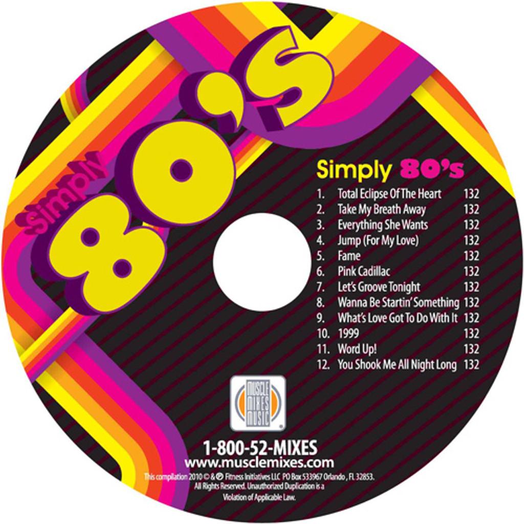 SIMPLY 80's-CD