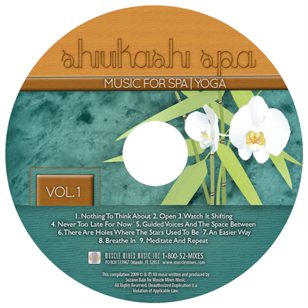 SHIVIKASHI SPA MUSIC-CD DISCONTINUED