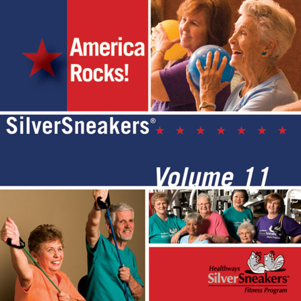 AMERICA ROCKS - SilverSneakers 11-CD