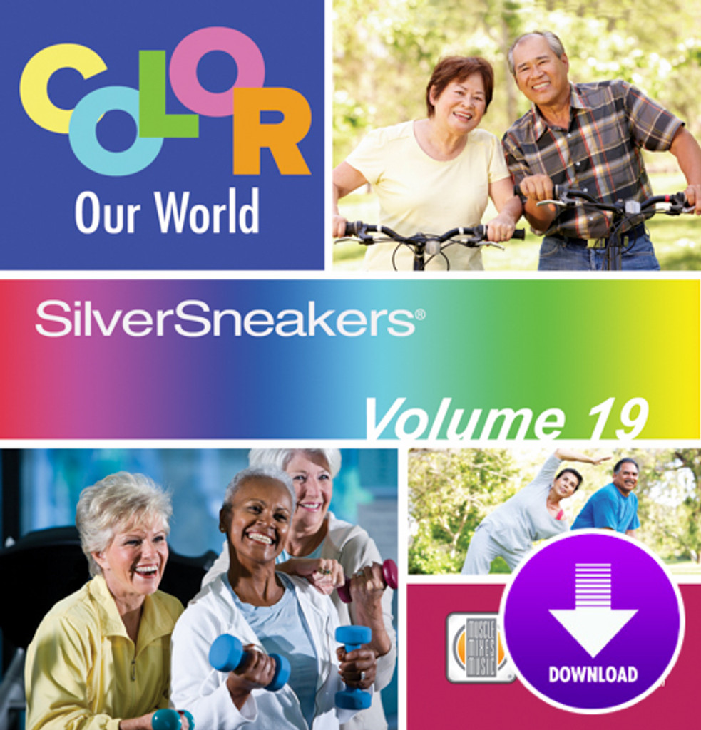 COLOR OUR WORLD - SilverSneakers 19-Digital Download