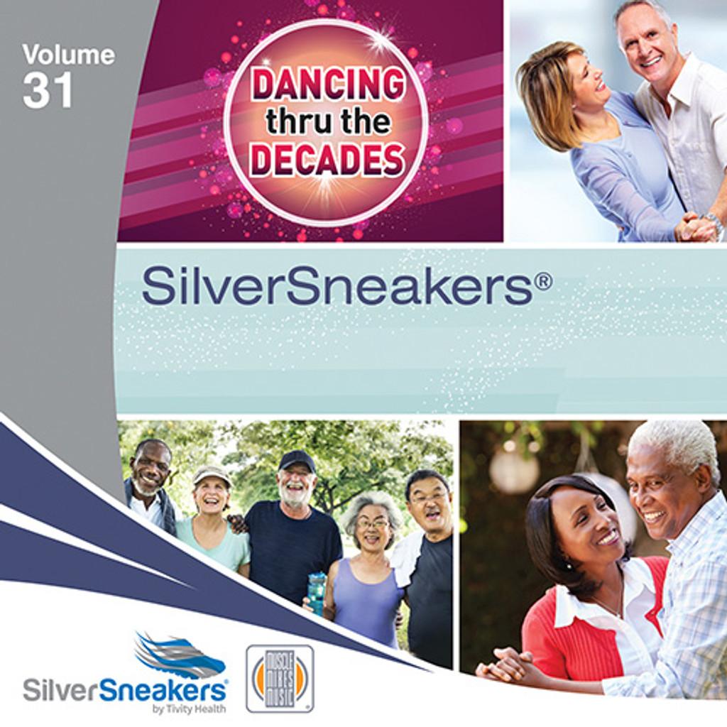 DANCING THRU THE DECADES,  SilverSneakers vol. 31 - CD