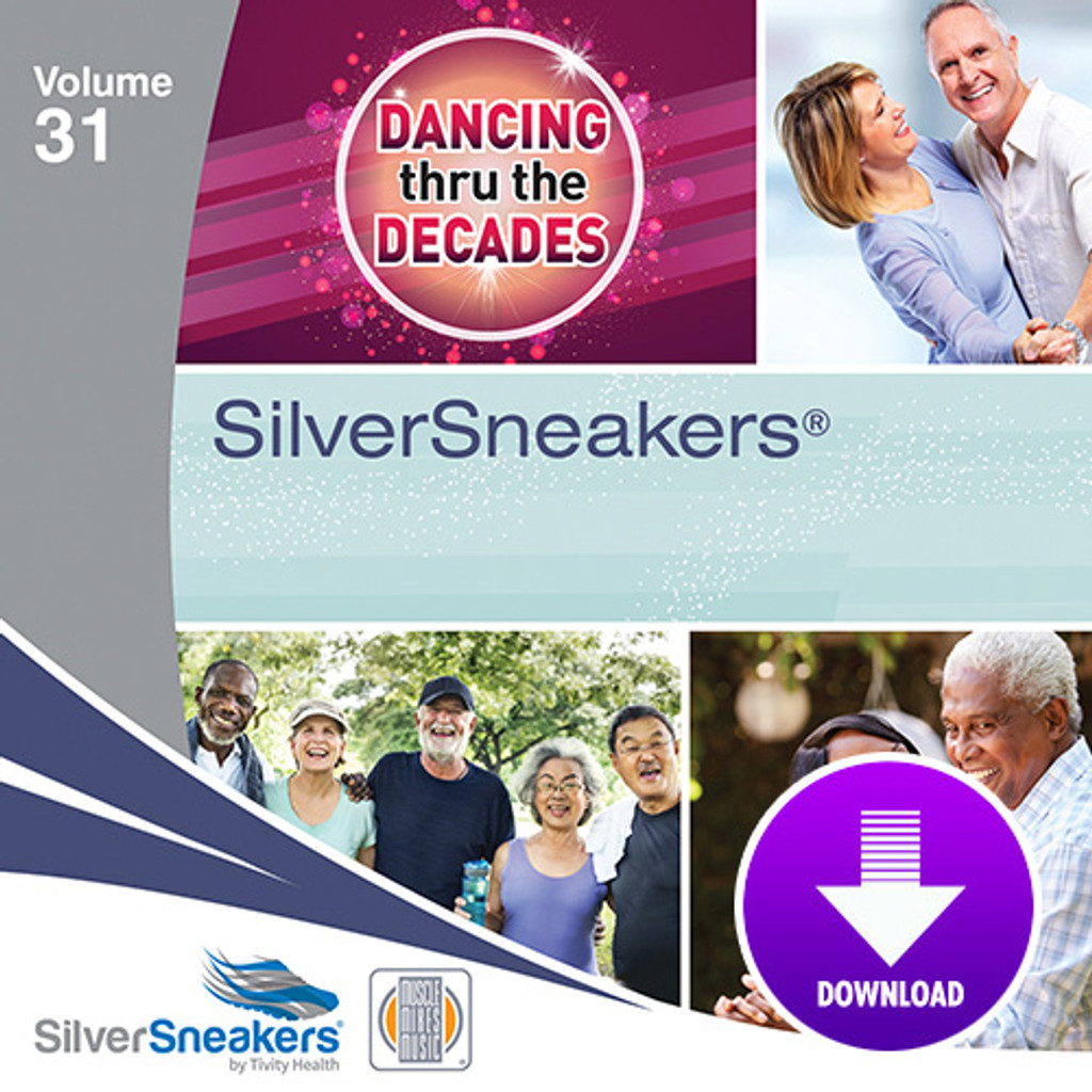 DANCING THRU THE DECADES,  SilverSneakers vol. 31 - Digital
