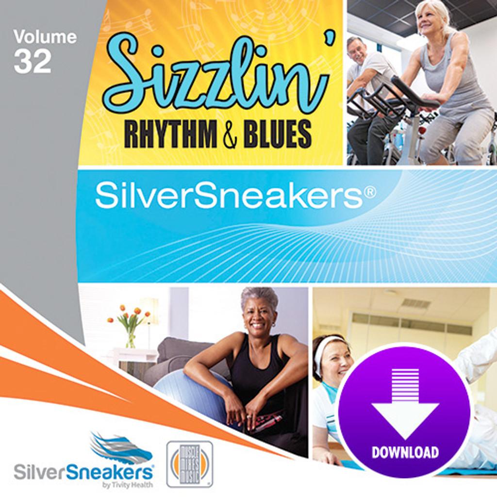 SIZZLIN' RHYTHM & BLUES,  SilverSneakers vol. 32 - Digital Download