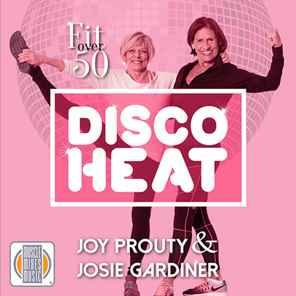 Fit Over 50: Disco Heat - CD