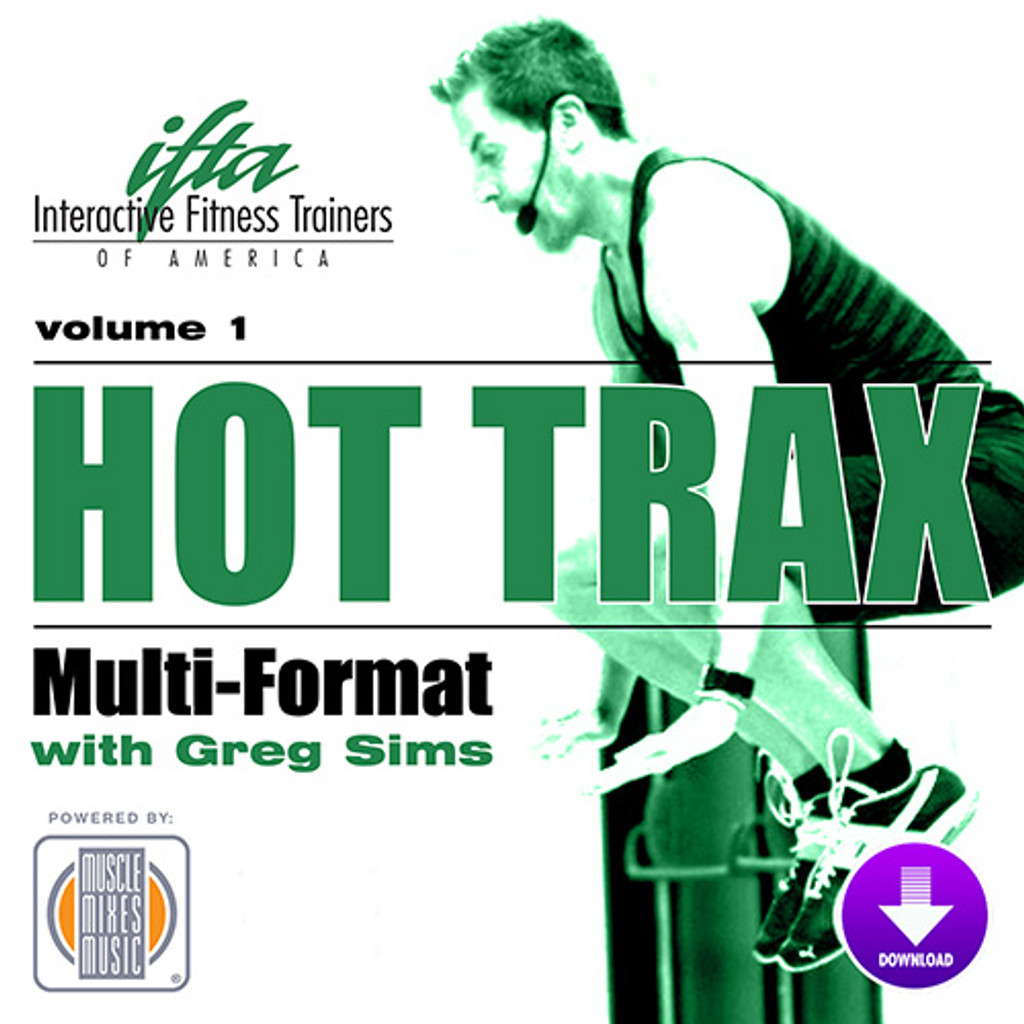 Hot Trax with Greg Sims, vol. 1 - Digital Download