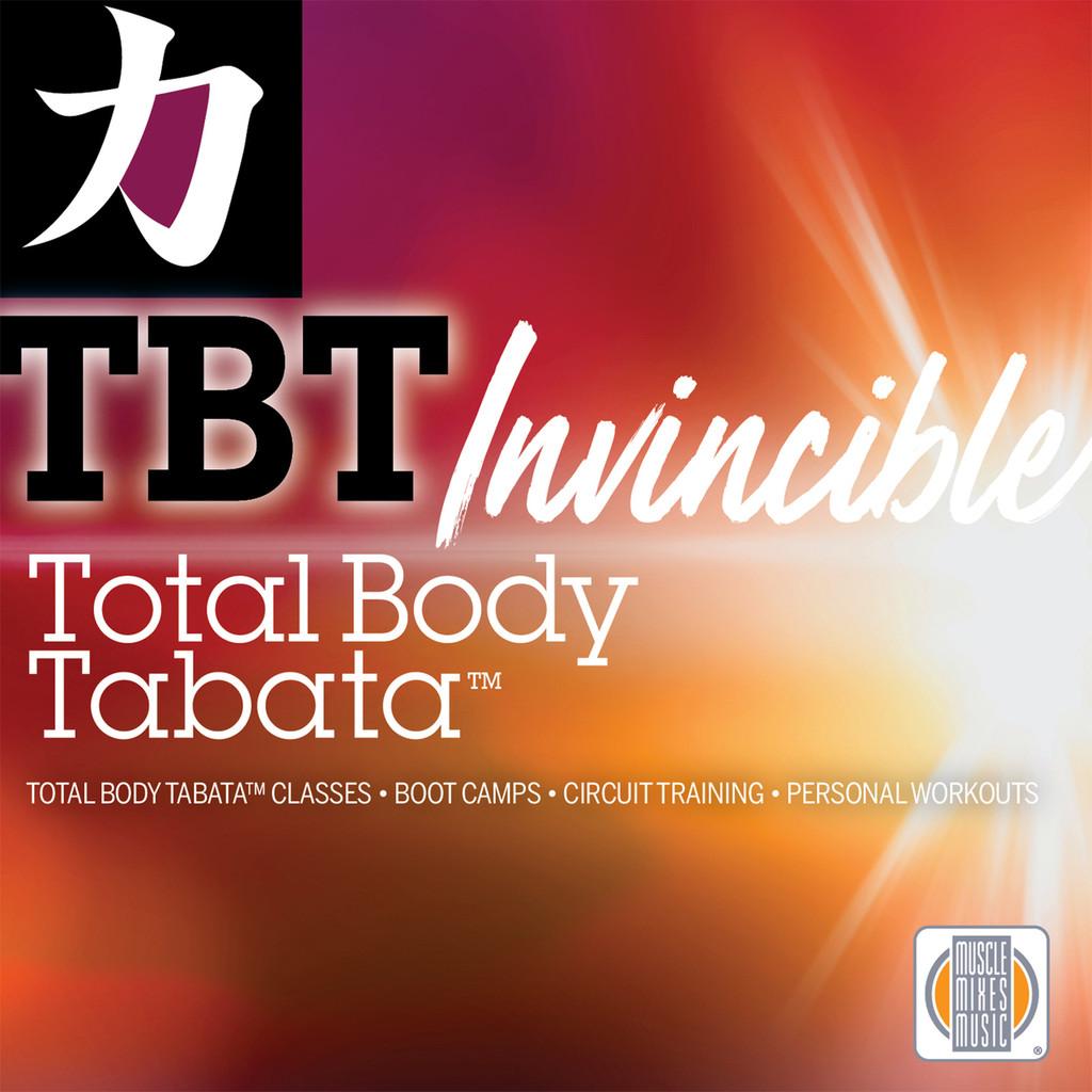 Total Body Tabata - Invincible - CD