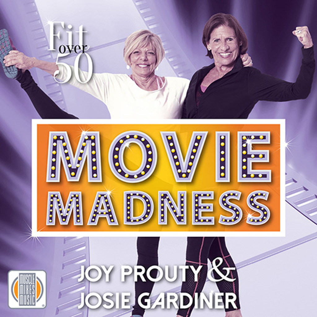 Fit Over Fifty: Movie Madness - CD