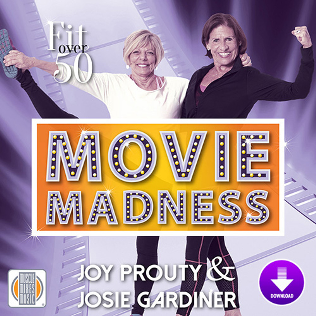 Fit Over Fifty: Movie Madness - Digital Download