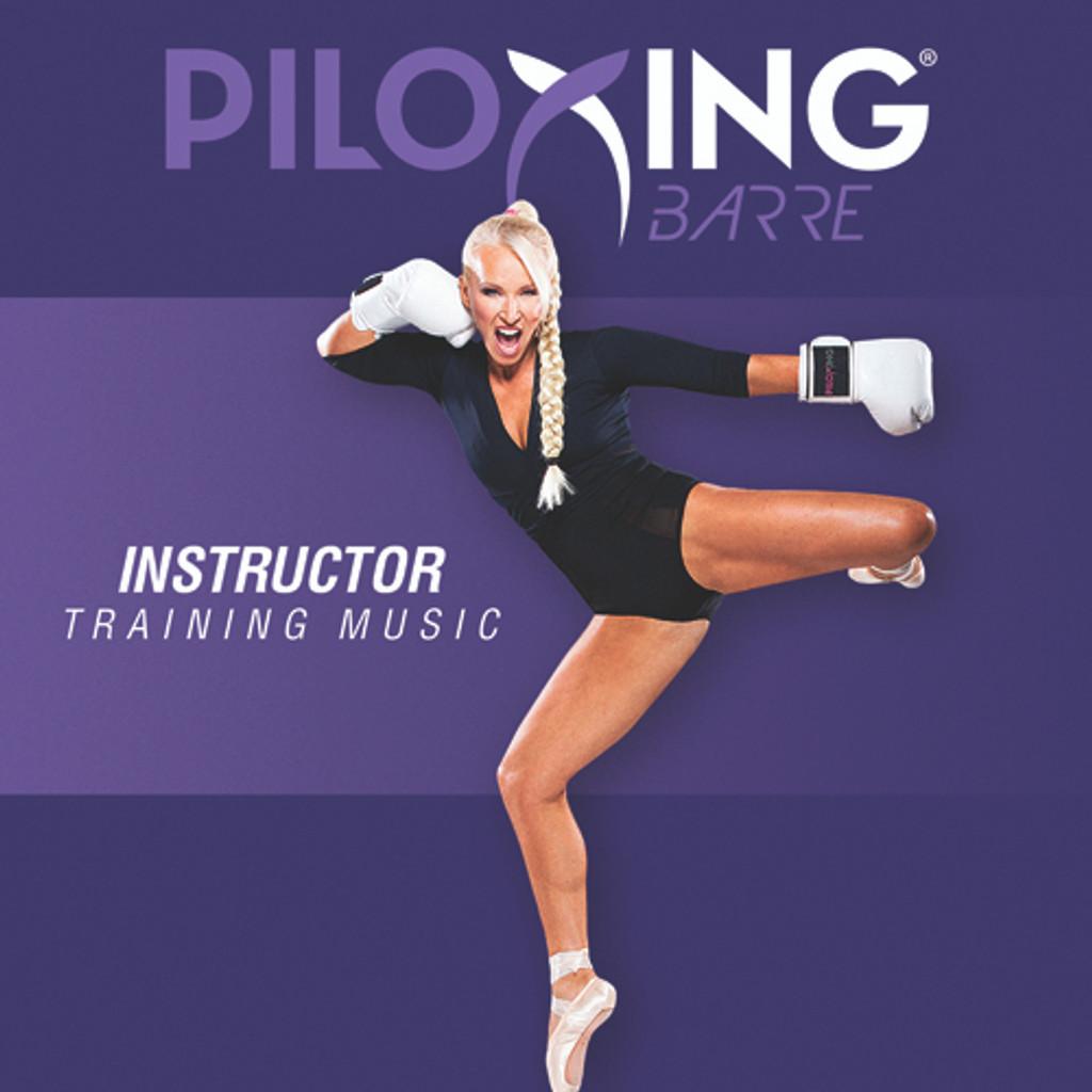 PILOXING BARRE - Instructor Training Music - CD