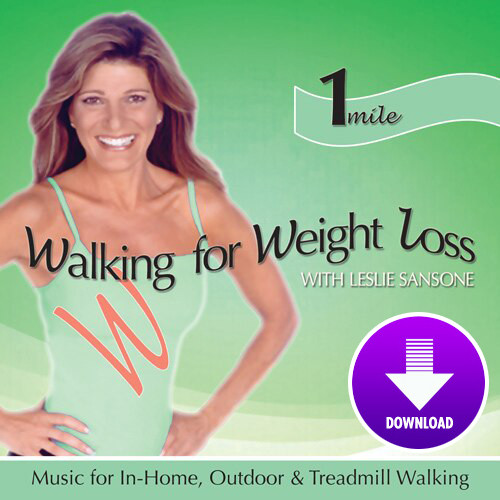 Walking for Weight Loss-1 MILE WALK- featuring Leslie Sansone - DIGITAL DOWNLOAD