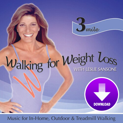 Walking for Weight Loss-3 MILE WALK featuring Leslie Sansone - DIGITAL