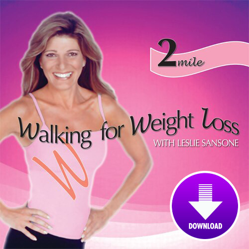 Walking for Weight Loss-2 MILE WALK  featuring Leslie Sansone - DIGITAL