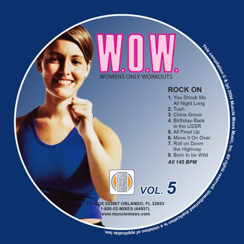 ROCK ON-W.O.W. 5 -  CD