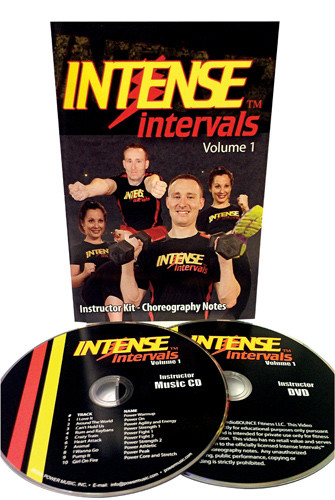 Intense Intervals‰, Starter Kit [Choreo + Music] [Physical product]