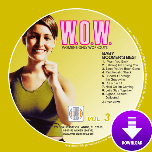 BABY BOOMER'S BEST-W.O.W. #3 - Digital Download