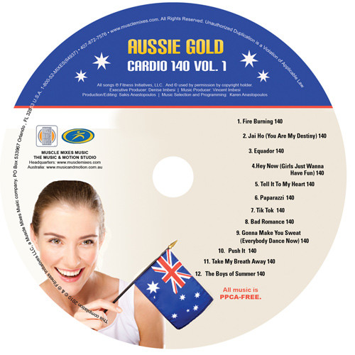 Aussie Gold: CARDIO 140 vol. 1-CD