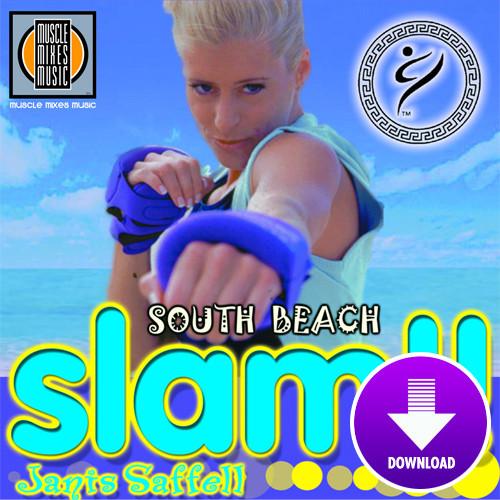 SOUTH BEACH SLAM featuring Janis Saffell-Digital