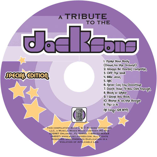 Tribute To The Jacksons - Special Edition!-CD DISCONTINUED