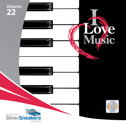 I LOVE MUSIC - SilverSneakers 22 -CD