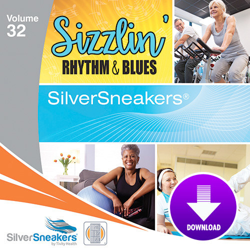 SIZZLIN' RHYTHM & BLUES,  SilverSneakers vol. 32 - Digital