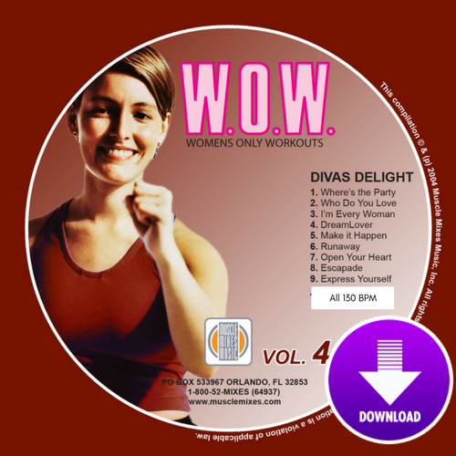 WOW Vol 4 - DIVAS DELIGHT