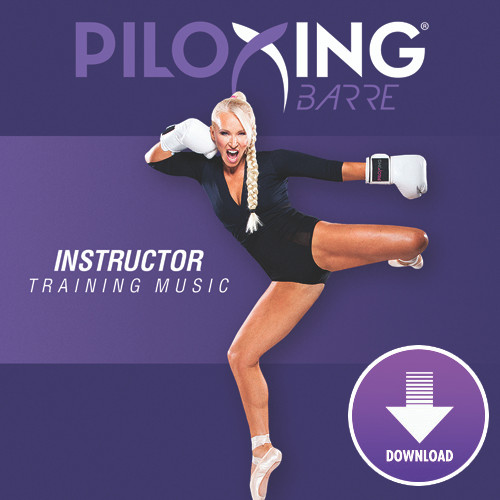 PILOXING BARRE - Instructor Training Music - Digital Download