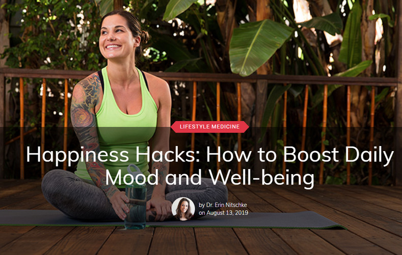 Happiness Hacks: How to Boost Daily Mood and Well-being