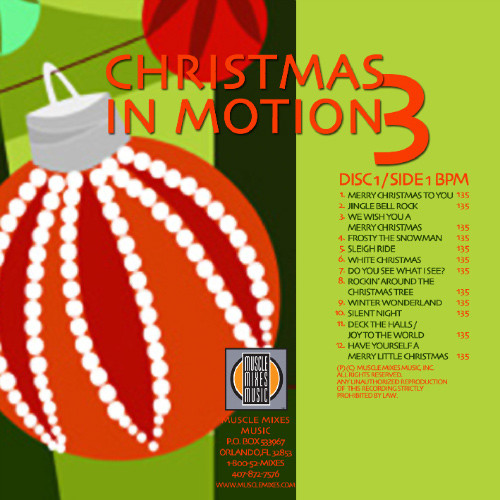 Christmas Music Mixes.Christmas In Motion