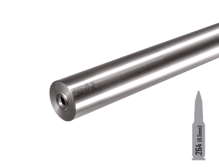 """Proof Research Barrels - Proof Stainless Steel Barrel .264 28"""" 1:8 Competition"""