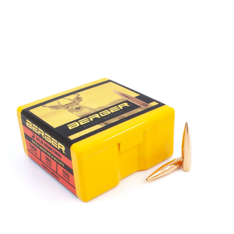 Berger 7 mm 180 Grain Very Low Drag (VLD) Hunting