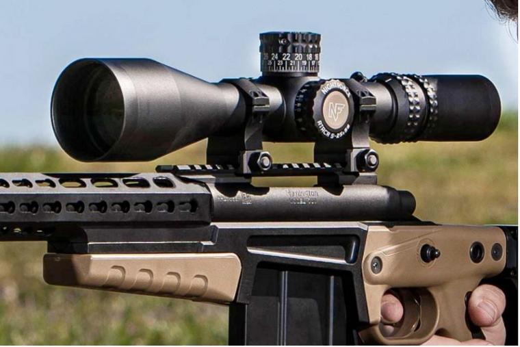 Nightforce Optics - NF C545 Nightforce ATACR F1 5x25x56 MOAR