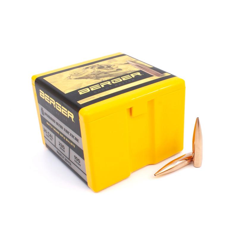 Berger 30 Caliber 230 Grain OTM Tactical Rifle Bullet